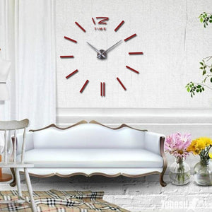 Modern Frameless Wall Clock DelicateMe