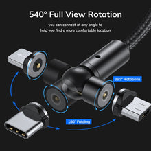 Load image into Gallery viewer, TOPK™ Magnetic Charging Cable 540°