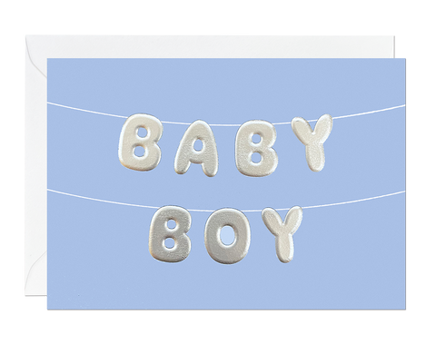 Baby Boy Balloon (pack of 6)