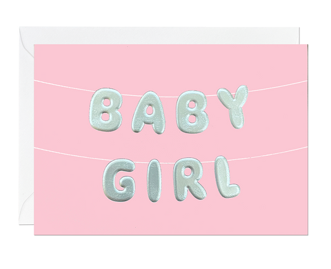 Baby Girl Balloon (pack of 6)