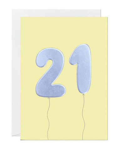 21 Balloon (pack of 6)