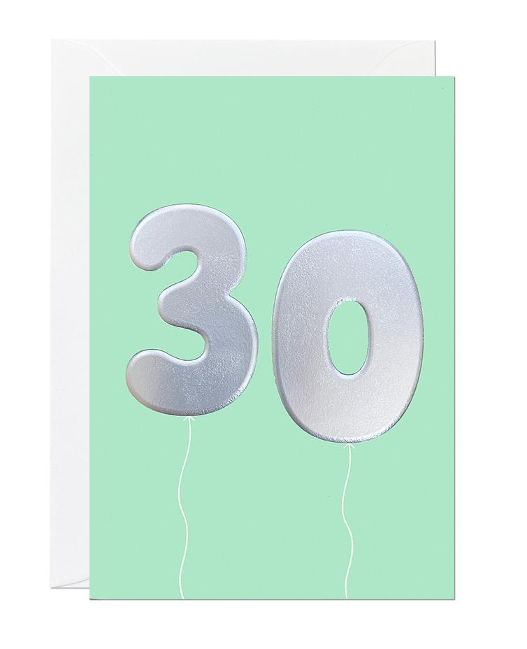 30 Balloon (pack of 6)