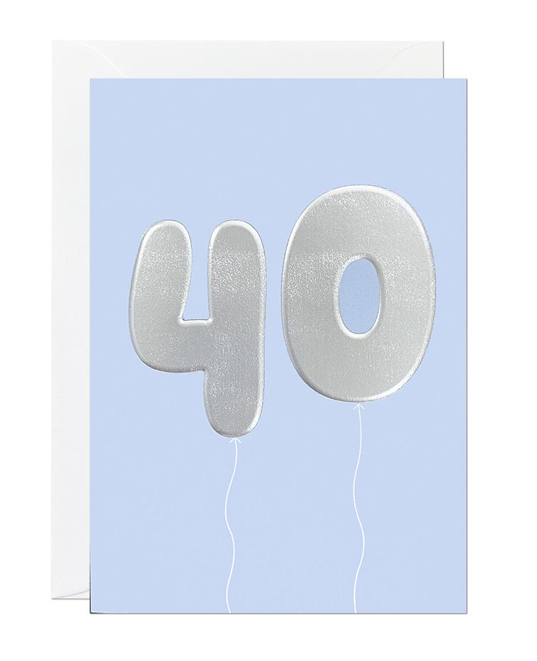 40 Balloon (pack of 6)