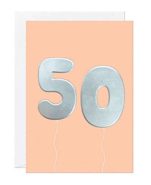 50 Balloon (pack of 6)