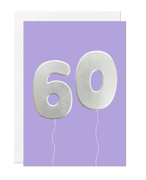 60 Balloon (pack of 6)
