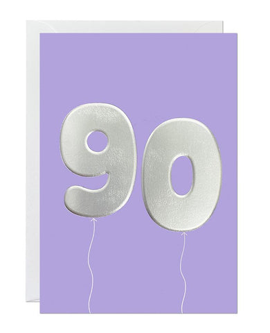 90 Balloon (pack of 6)