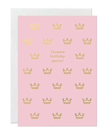Birthday Queen (pack of 6)