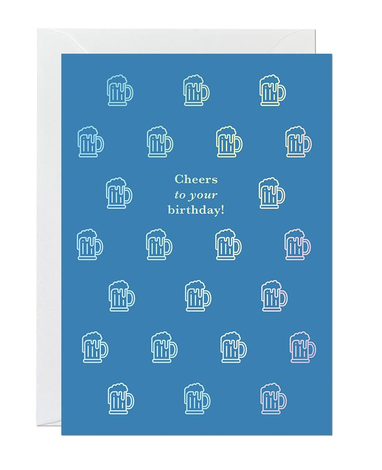 Cheers Birthday (pack of 6)