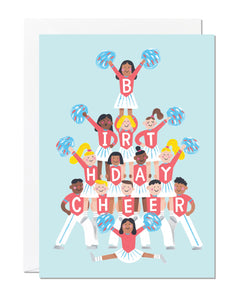 Birthday Cheerleader (pack of 6)