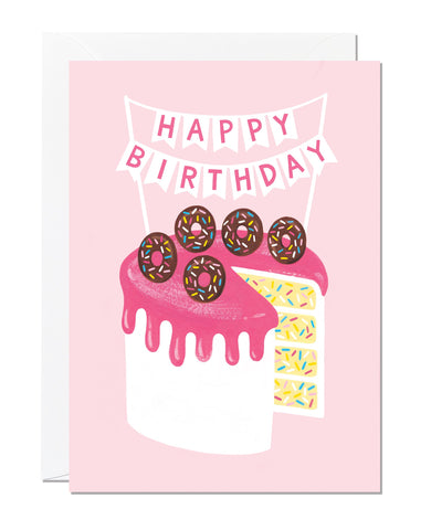 Birthday Cake (pack of 6)