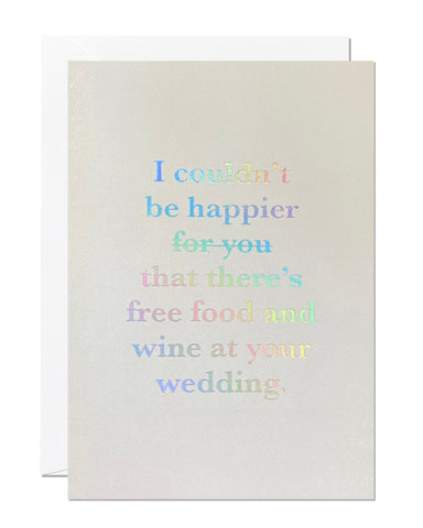 Funny Wedding Card (Pack of 6)