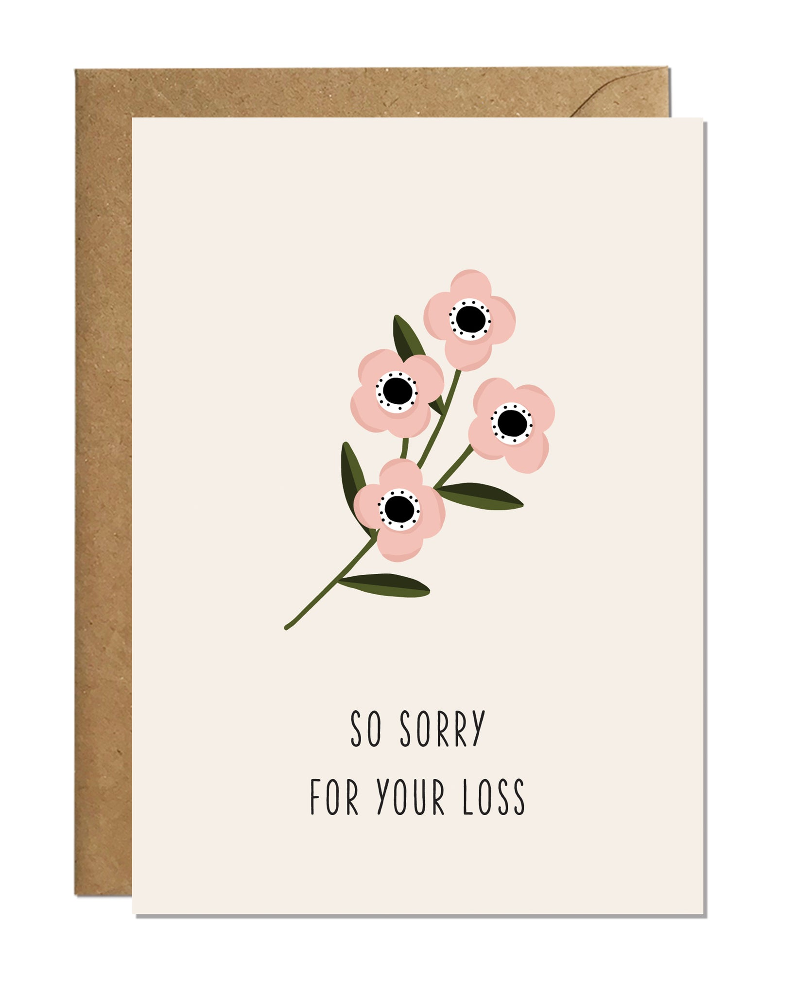 So Sorry For Your Loss (pack of 6)