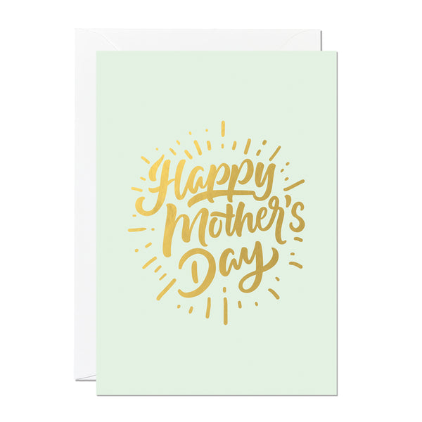 Happy Mother's Day - Gold Foil (Pack of 6)