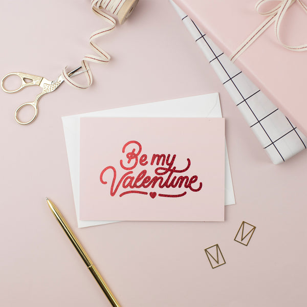 Be My Valentine Card (Pack of 6)
