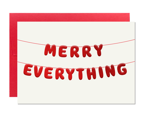 Merry Everything (pack of 6)