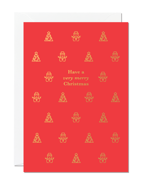 Have A Very Merry Christmas (pack of 6)
