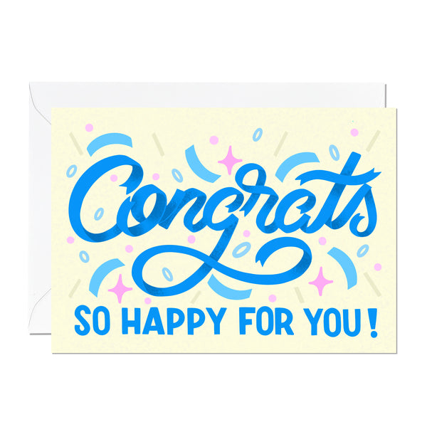 Congratulations Card (Pack of 6)