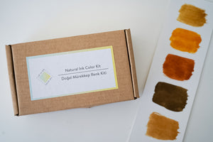 Natural Ink Color Kit