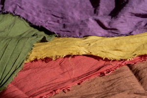 Natural Dyed Linen ALL COLORS SAMPLE SET