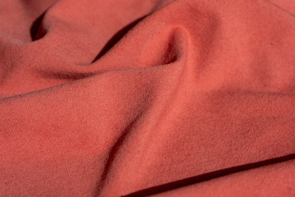 Natural Dyed Hand-loomed Organic Cotton CHERRY