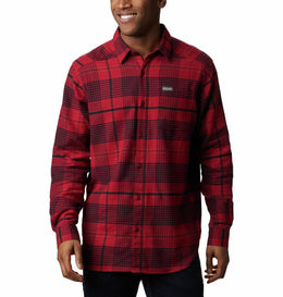 Columbia Cornell Woods™ Flannel Long Sleeve Shirt - Men's