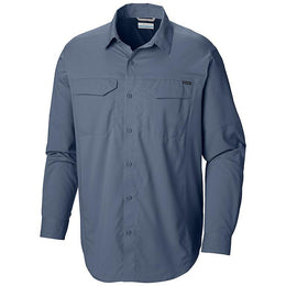 Columbia Silver Ridge Lite™ Long Sleeve Shirt - Men's Plus Size