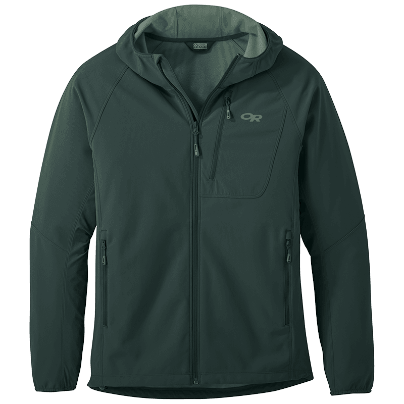 Outdoor Research Ferrosi Grid Hooded Jacket - Mens