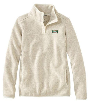 L.L. Bean Fleece Pullover Sweater - Women's