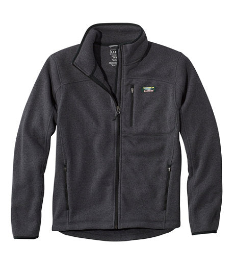 L.L. Bean Fleece Full Zip Jacket - Mens