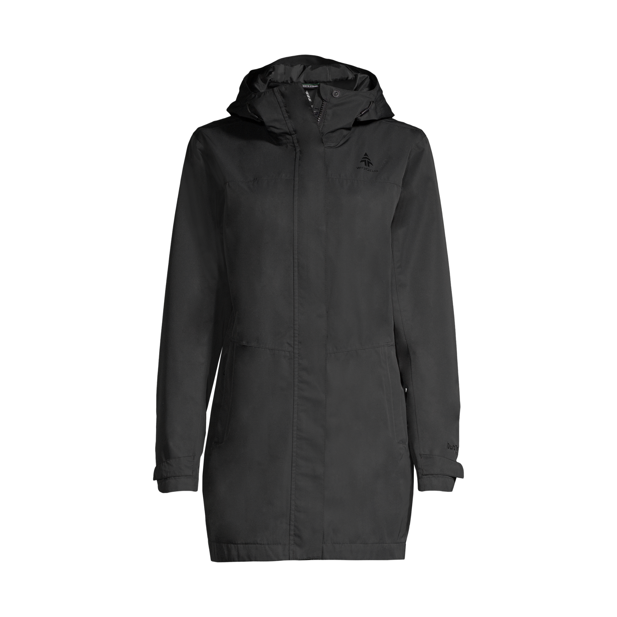 Woods Monolith 2L Mid-Length Shell Jacket - Womens