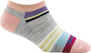Darn Tough Modern Stripe No Show Lightweight Lifestyle Socks - Womens