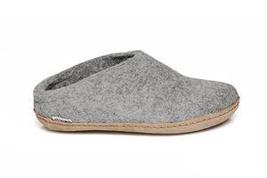 Glerups Slipper Leather - Adult's