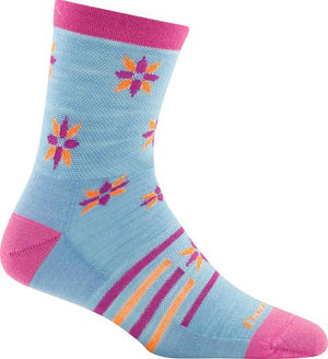 Darn Tough Indie Floral Micro Socks - Kids
