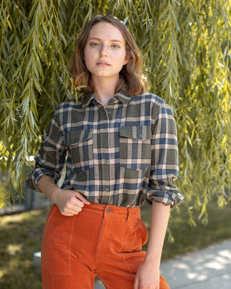 United By Blue Responsible Flannel - Womens