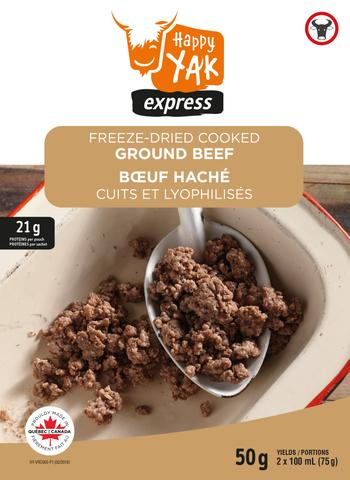 Happy Yak Freeze-Dried Cooked Ground Beef