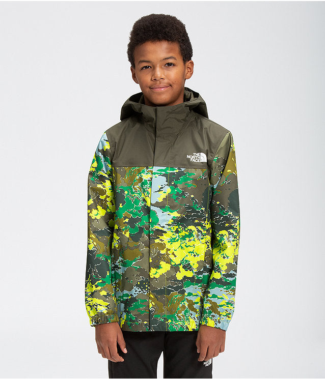 The North Face Resolve Reflective Rain Jacket - Kids