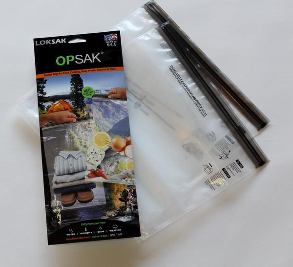 Opsak 31.1 x 52.7cm Odour Proof Barrier Bags (2-Pack)