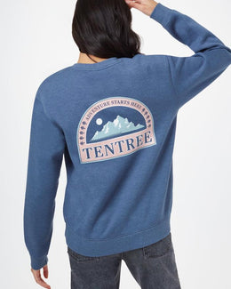 Tentree Adventure Boyfriend Crew - Women's