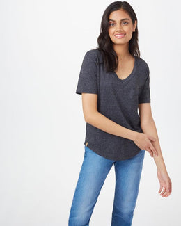 Tentree Hemp V-Neck T-Shirt - Women's
