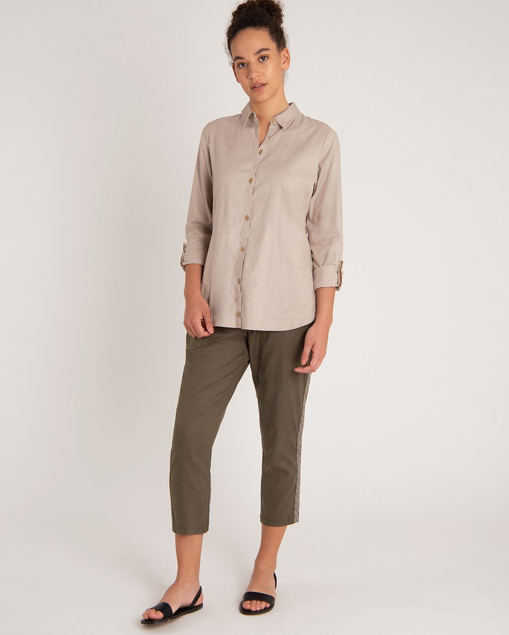 Sherpa Kiran Long Sleeve Shirt - Womens