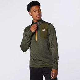 New Balance Impact Run Grid Back Half Zip - Men's