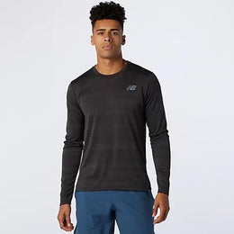 New Balance Q Speed Fuel Jacquard Long Sleeve - Men's
