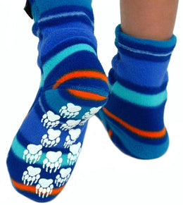 Polar Feet Nonskid Fleece Socks - Kid's