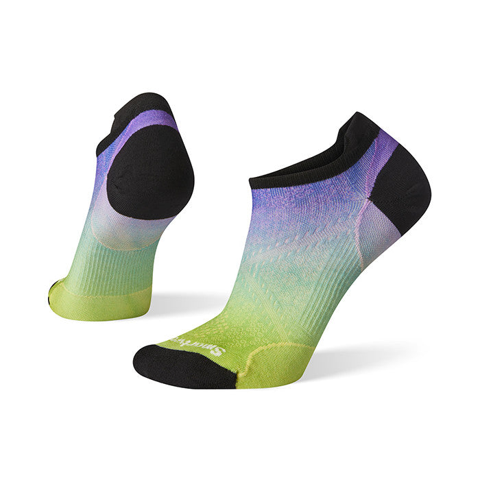 Smartwool PhD Run Ultra Light Ombre Print Micro Athletic Socks - Womens