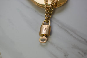 Louis Vuitton Lock Necklace