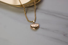 Load image into Gallery viewer, Louis Vuitton Gold Heart Necklace