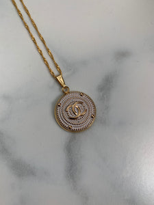Chanel Button Necklace