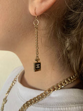 Load image into Gallery viewer, Chanel Perfume Bottle Earrings
