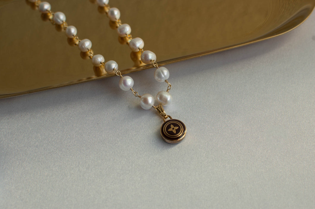 Louis Vuitton Pearl Pastilles Necklace