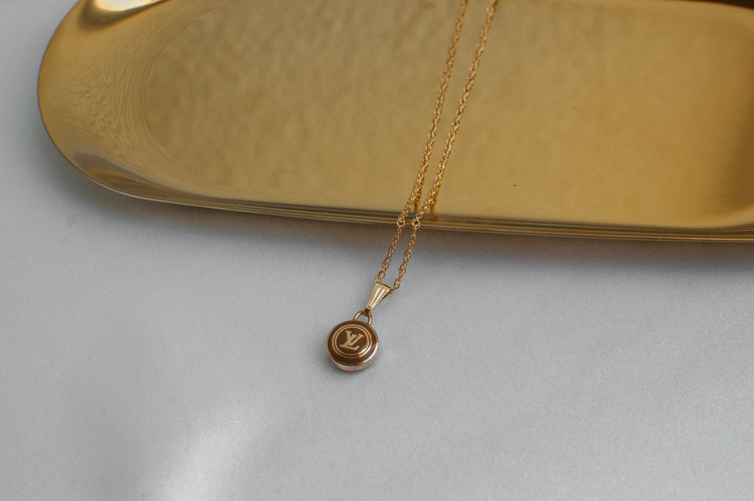 Louis Vuitton Logo Pastilles Necklace